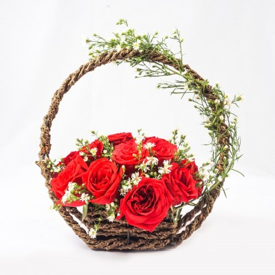 The Basket of Roses -...