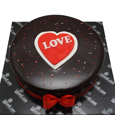 Sweet Love Chocolate Cake