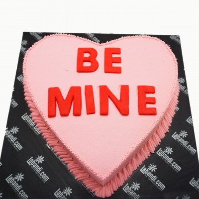 Be Mine Special Heart Cake