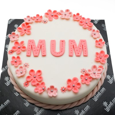 Mom's Favourite Colour Cake