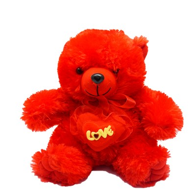 Red Love Teddy
