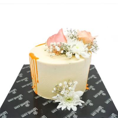 Floral Bed Cake