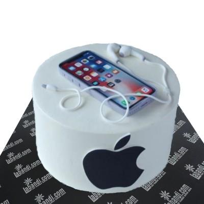 I Phone Full Set With Cake