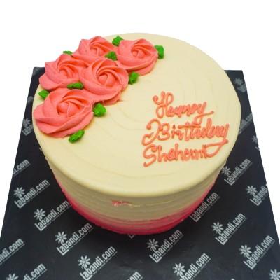 Simply Pink Cake
