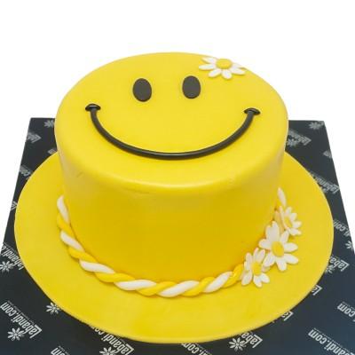Happy EMOJI Cake
