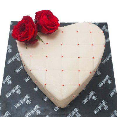 Blooming Blossom Heart cake