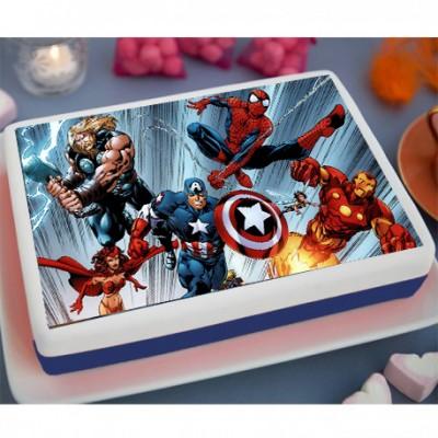 Avengers Endgame Cake