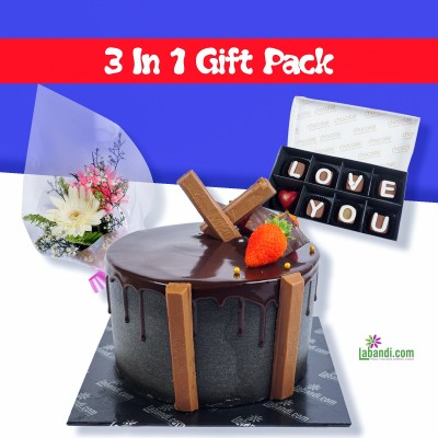 3 in 1 Gift Pack Kit-Cat...