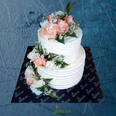 Most Elegant Roses Cake