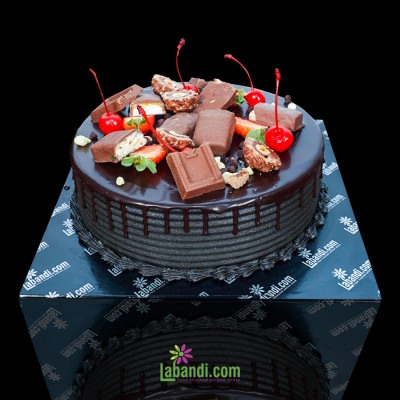 Choco Splash cake