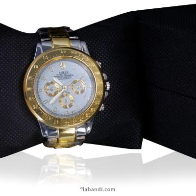 Rolex® Silver Gold- Mens...