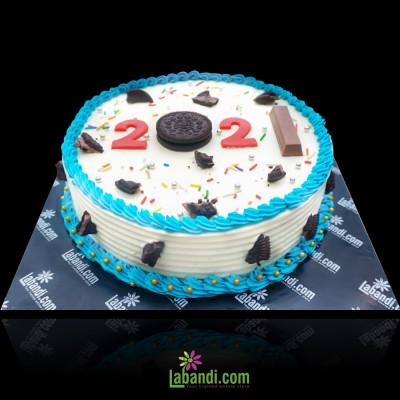 2021 New Year Celebrity's Cake
