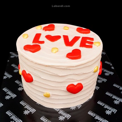 Pinky Love Cake