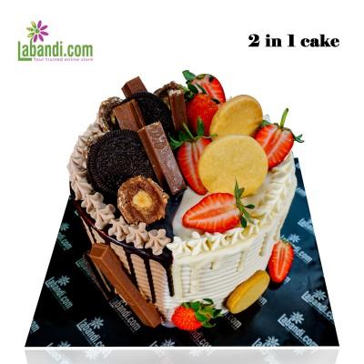 2 in 1 cake