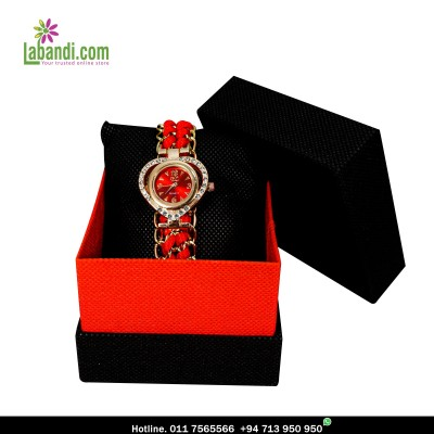 YL® Quartz Red - Ladies Watch