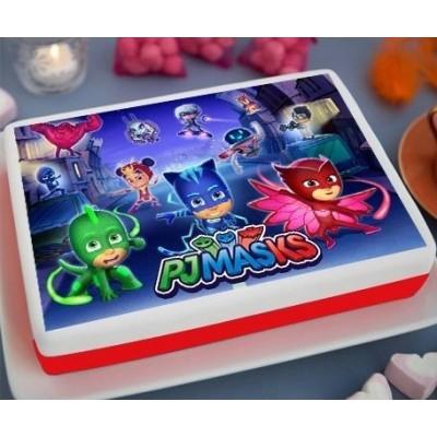 PJMASKS Printed Cake (2Kg)