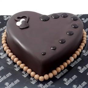 Noir Choco Heart Cake