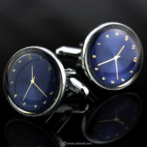 Watch Shaped Buttons Cufflinks